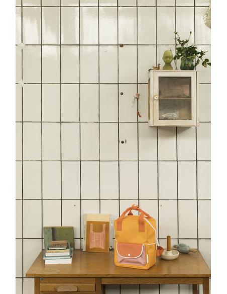 Rugtas Small Wanderer Yellow + Orange + Pink