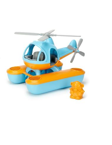 Green Toys Zeehelicopter blauwe bovenkant