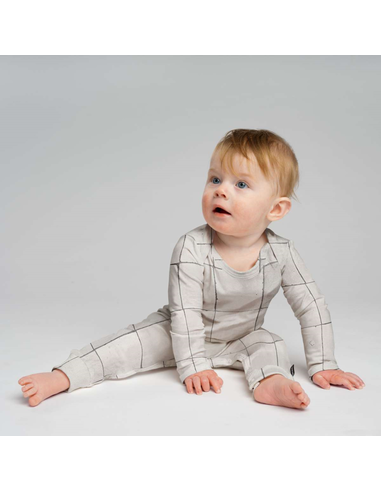 Jumpsuit Tiles Pearl White