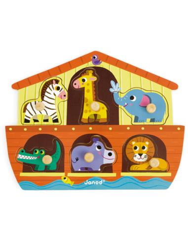 Knoppuzzel - De Ark van Noach