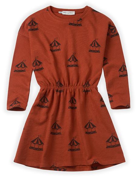 Dress Carousel - Copper Brown