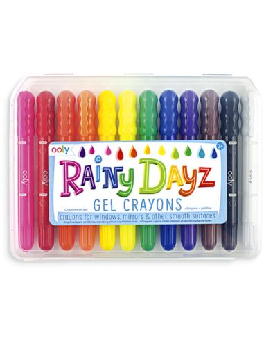 Raamkrijtjes Rainy Dayz