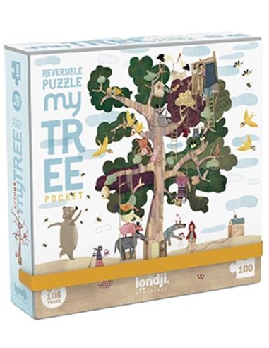 Pocket Puzzel - My Tree (100 stukjes)