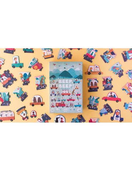 Puzzel - Toet Toet! (48 stukjes)
