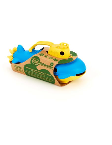Green Toys Onderzeeër met geel handvat
