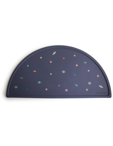 Mushie Siliconen placemat - Planets