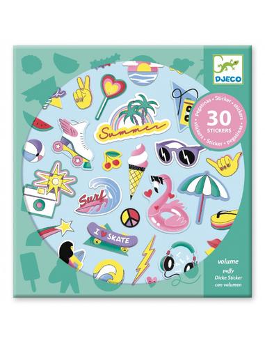 Djeco Stickers California (30 stuks)