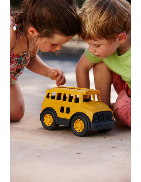 Schoolbus geel