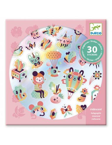 Djeco Stickers Regenboog (30 stuks)