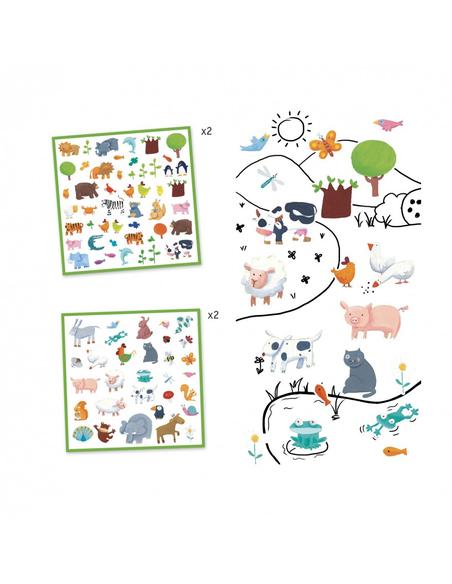 Stickers Dieren (160 stuks)