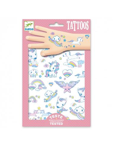 Djeco Tattoos Unicorns