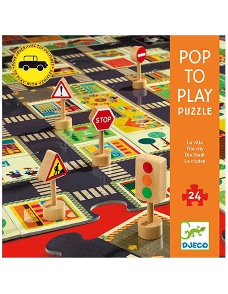 Puzzel - De grote stad