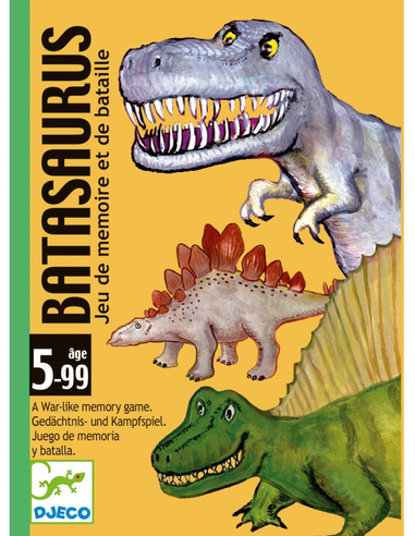 Djeco Kaartspel - Batasaurus