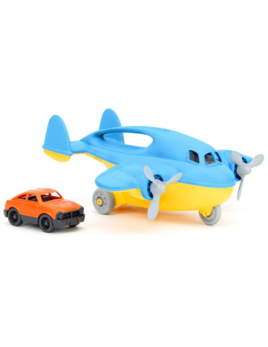 Green Toys Vrachtvliegtuig met auto