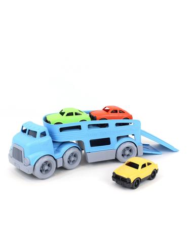 Oplegger met auto's