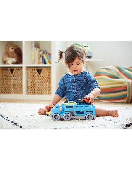 Green Toys Oplegger met auto's
