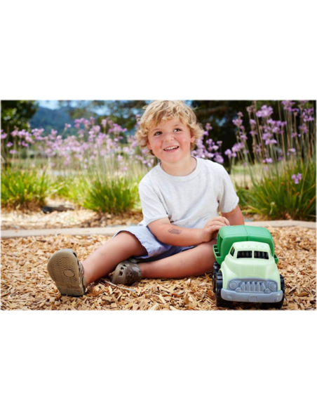 Vuilniswagen groen