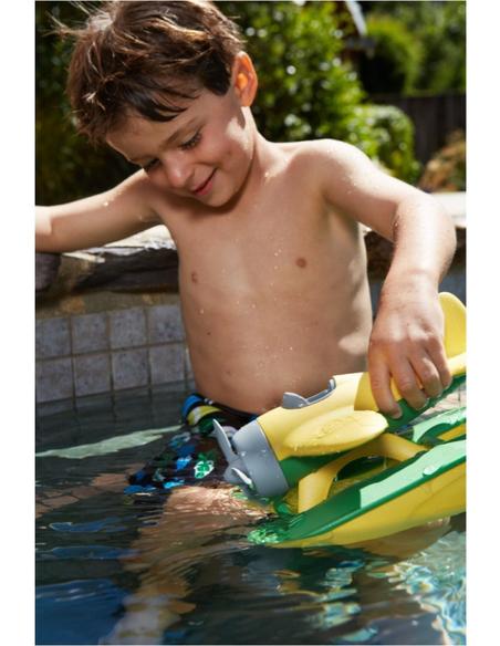 Green Toys Watervliegtuig met gele vleugels