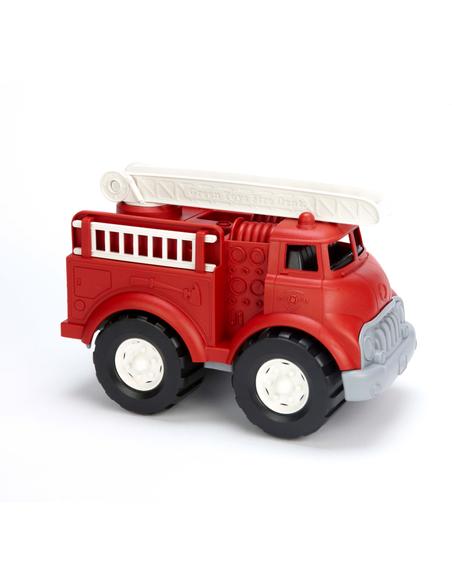 Green Toys Brandweerwagen rood
