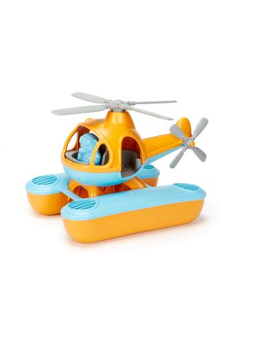 Green Toys Zeehelicopter oranje bovenkant