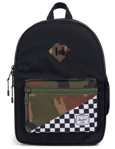 Heritage Youth Black Checker Camo