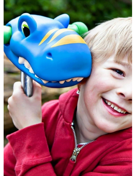 Hoofd Dino Blauw