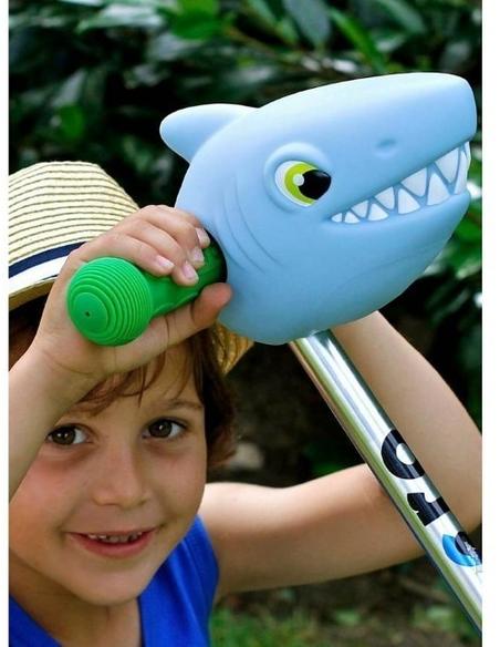 Hoofd Haai Blauw