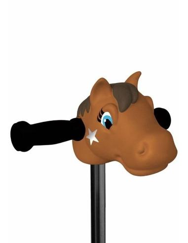 Micro Step Hoofd Pony Bruin