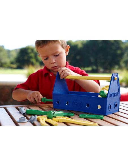 Green Toys Gereedschapskist blauw