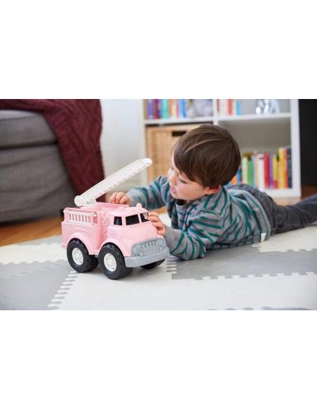 Brandweerwagen roze