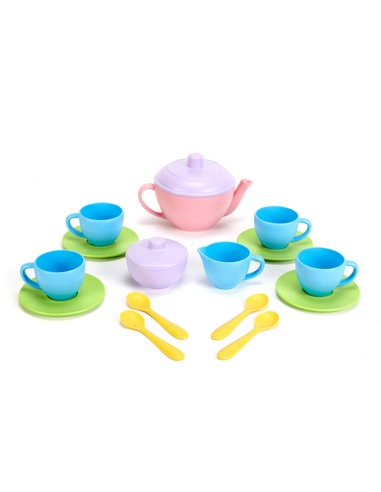 Green Toys Thee set roze