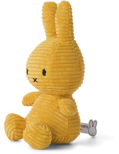Nijntje corduroy yellow 23 cm