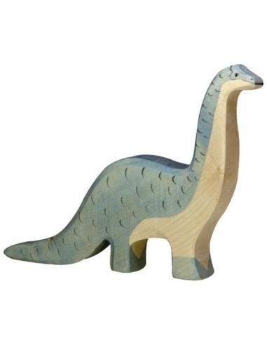 Holztiger Houten Brontosaurus