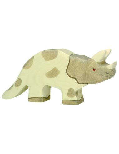Holztiger Houten Triceratops
