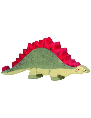 Holztiger Houten Stegosaurus