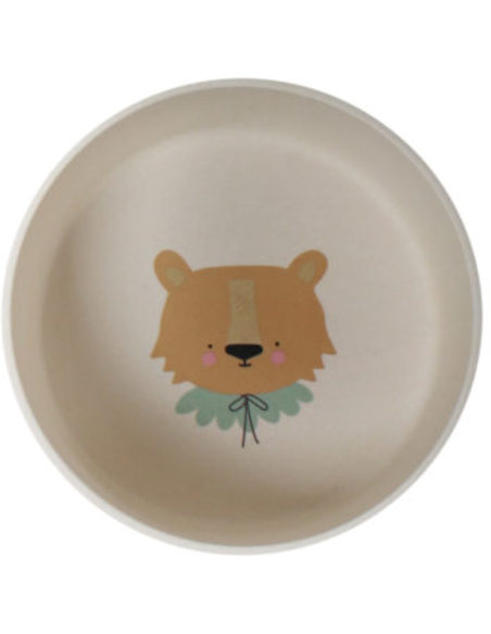 EL Bamboo Eco Dinner Set Lion